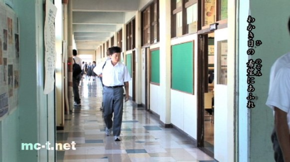 函館市立光成中学校・廊下