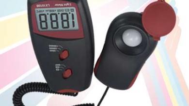 Alat Pengukur Intensitas Cahaya Digital Lux Meter LX-1010B