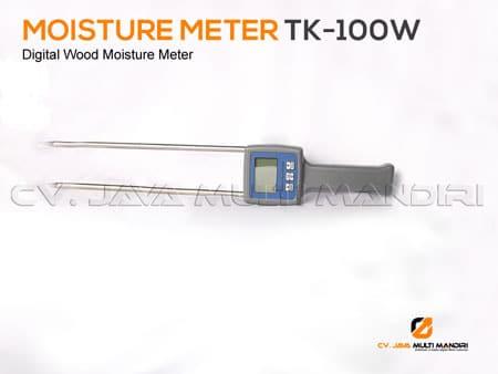 Alat ukur kadar air arang TK-100W