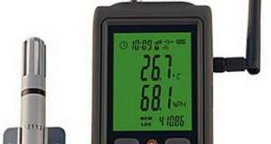 Thermometer Suhu & Humidity Data Logger WIFI R90W