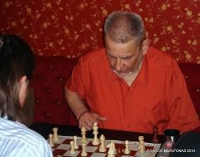 2010-06-09 žaibo šachmatų turnyras: Donatas Lapienis