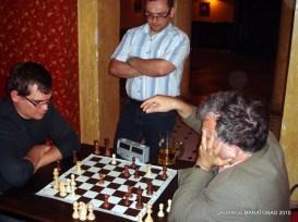 2010-06-09 žaibo šachmatų turnyras: Emilis Vėlyvis; Virginijus Dambrauskas