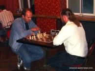 2010-06-09 žaibo šachmatų turnyras: Šarūnas Kiveris; Darius Matonis