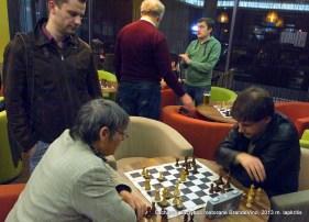 """Atviros žaibo šachmatų varžybos restorane """"BrandeVino"""" (Vilnius, Žalgirio g.88)"""