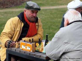 Bernardinų sodas; Pranas vs Vytautas Andrijauskas