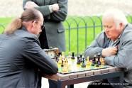 VILNIUS: BERNARDINŲ SODAS 20140427; Darius Matonis vs Vytautas Andrijauskas