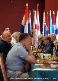 Aloyzas Kveinys; senjorų šachmatų komandų Pasaulio čempionatas