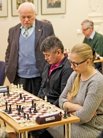 Vilnius, 2016-04-03; Open Chess Championship - Rositsan and Maccabi Chess Club