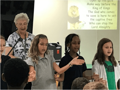 How students learn through worship - MCA Maranatha Christian Academy