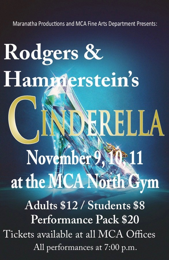 Cinderella musical - Maranatha Christian Academy - Faith is the focus of our theatre program