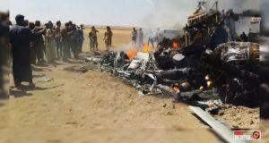 Захвачены тела погибших пилотов вертолета Ми-8