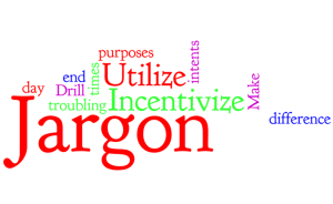 Jargon is dangerous for good donor communication