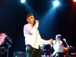 Morrissey performing