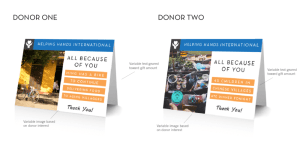 Variable data for direct mail