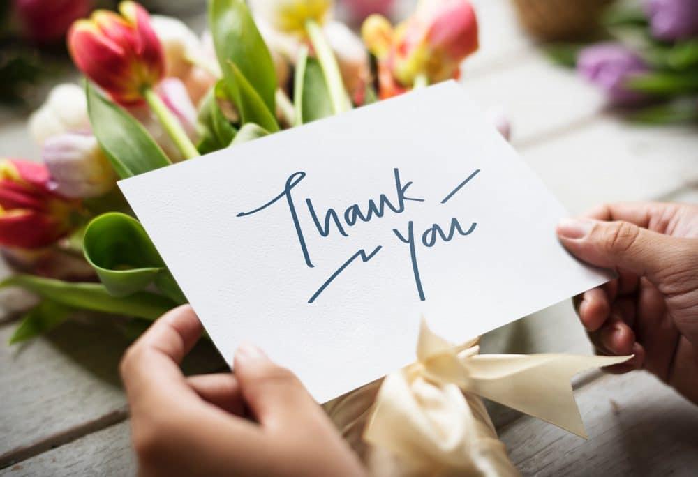 Make gratitude important