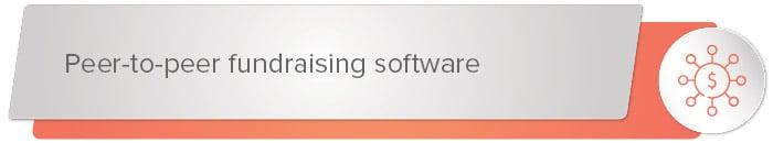 peer-to-peer fundaising software