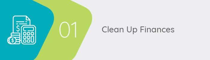 Clean up finances