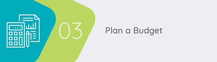Plan a budget