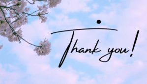 Does your thank you letter really matter?