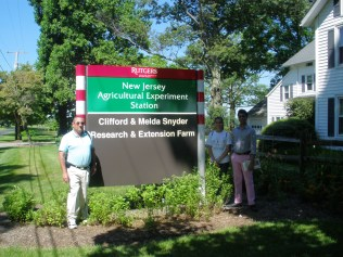 Visiting Snyder Research and Extension Farm