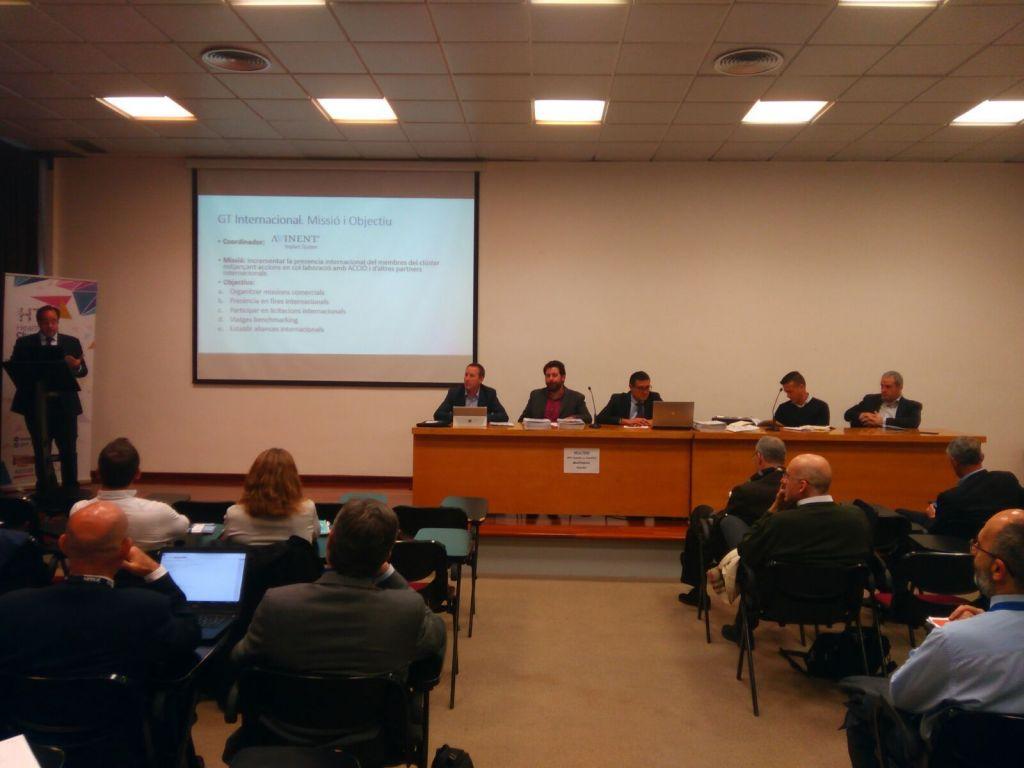 HealthTech Cluster - asamblea de socios en HEALTHIO