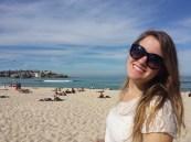 Steph at Bondi Beach