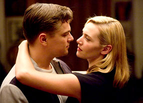 "Leonardo DiCaprio and Kate Winslet pair up again -- equally dire consequences -- in ""Revolutionary Road."""