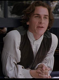 Wait ... is that ... is that a ... is that a SMILE? On Christian Bale's FACE?