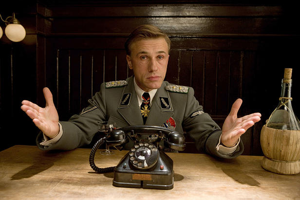 "A devil of a dealmaster: Christoph Waltz is a villain for the ages in ""Inglourious Basterds."""