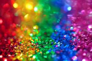 assorted color sequins