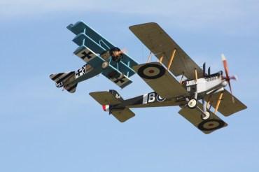 RAF R.E.8 & Fokker Dr.1 Replicas