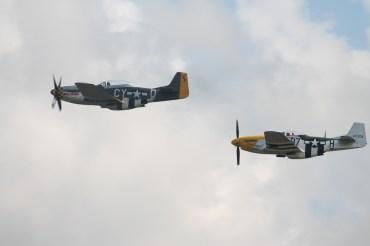 "North American P-51D Mustangs ""Ferocious Frankie"" & ""Miss Velma"""
