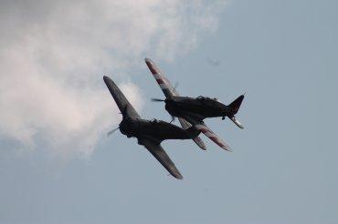 Morane-Saulnier D-3801 & Curtiss Hawk 75A-1