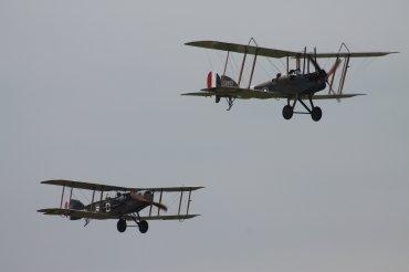 RAF B.E.2E & Bristol F.2B Fighter Replicas