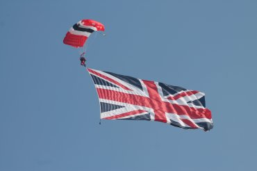 The Red Devils Parachute Display Team