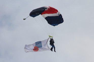 RLC Silver Stars Parachute Display Team