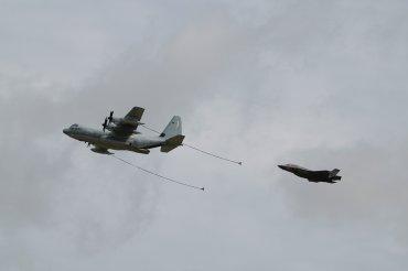 Lockheed-Martin KC-130J Hercules & Lockheed-Martin F-35B Lightning II