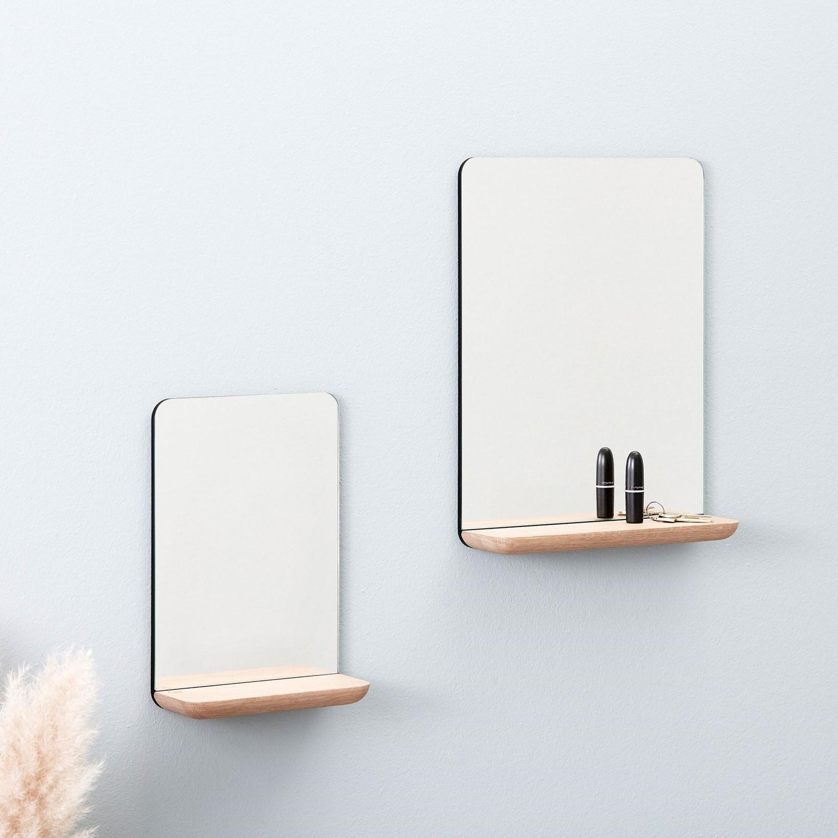 Kob Andersen Furniture A Wall Mirror Small Oak Lige Her Laekker Kvalitet Hurtig Fragt