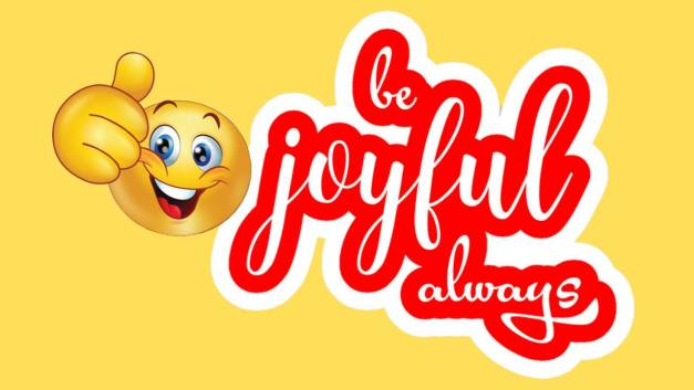 Be Joyful Always – Pressing On For The Prize