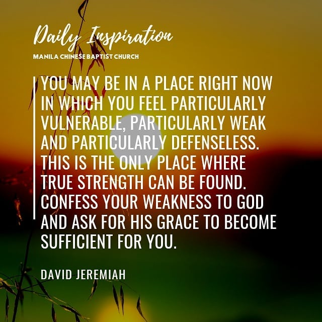 You may be in a place right now in which you feel particularly vulnerable, parti…