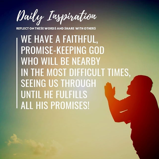 We have a faithful, promise-keeping God who will be nearby in the most difficult…