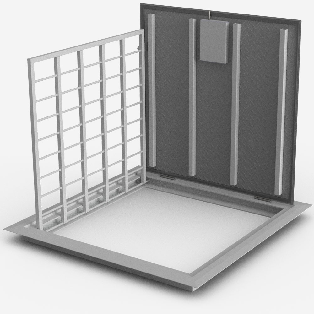 LPL-1 Section safety access cover