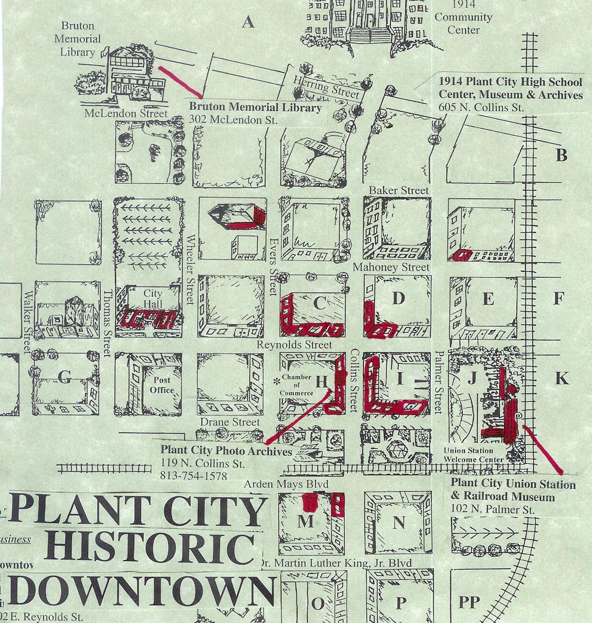 Plant City Florida Map.Plant City Florida Map Street