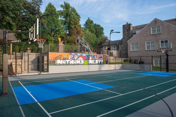 Joe Nathan Basketball Tennis Court