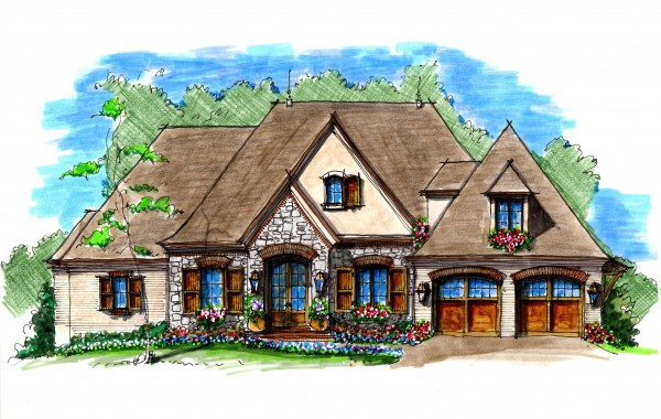 MCC Knoxville custom home rendering