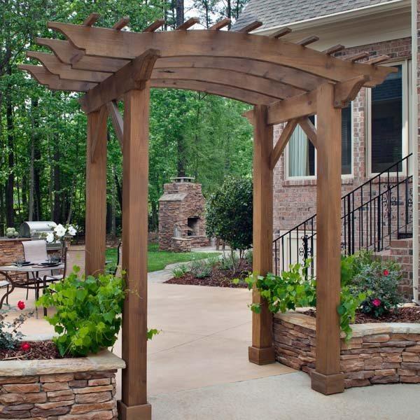 Outdoor Living Space Doorway