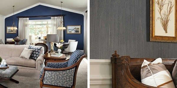 Trendy Statement Wall Paint & Wall Coverings