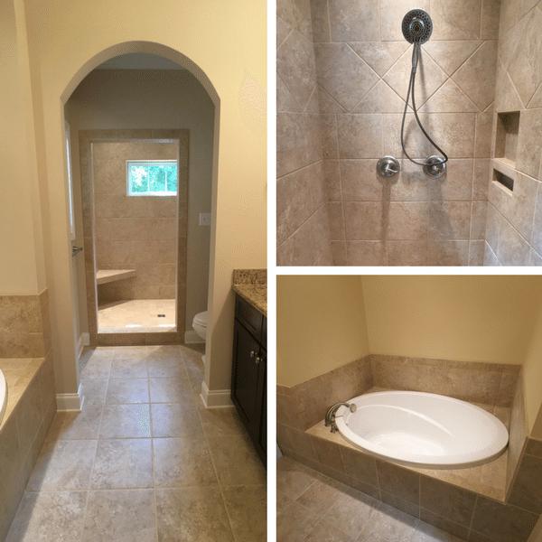 Sequoyah Garden Custom Bathroom
