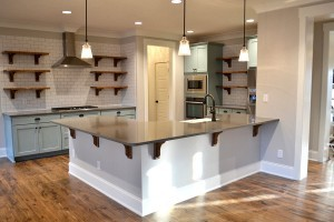 Open and airy kitchens are the hot new trend!