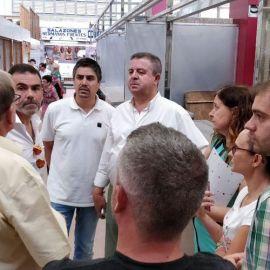 MC Cartagena atiende las demandas de los comerciantes de Santa Florentina, víctimas de la ineficaz y superficial política socialista
